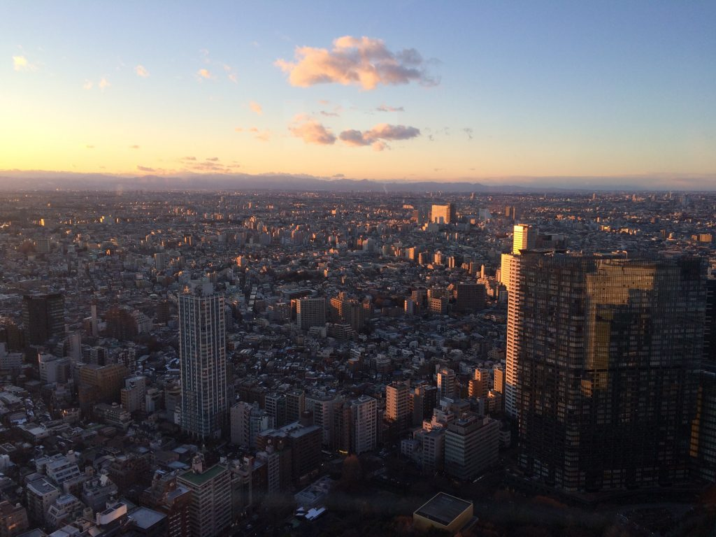 Tokió, view in Shinjuku