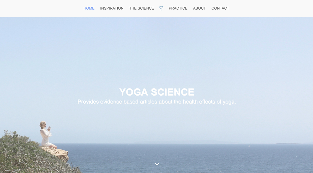 Web Design and Development for Yoga Science