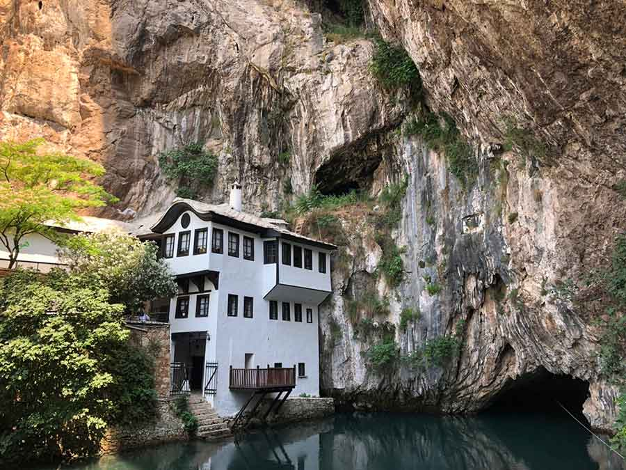 Blagaj Tekke - Bosznia es Hercegovina - Judit Travels