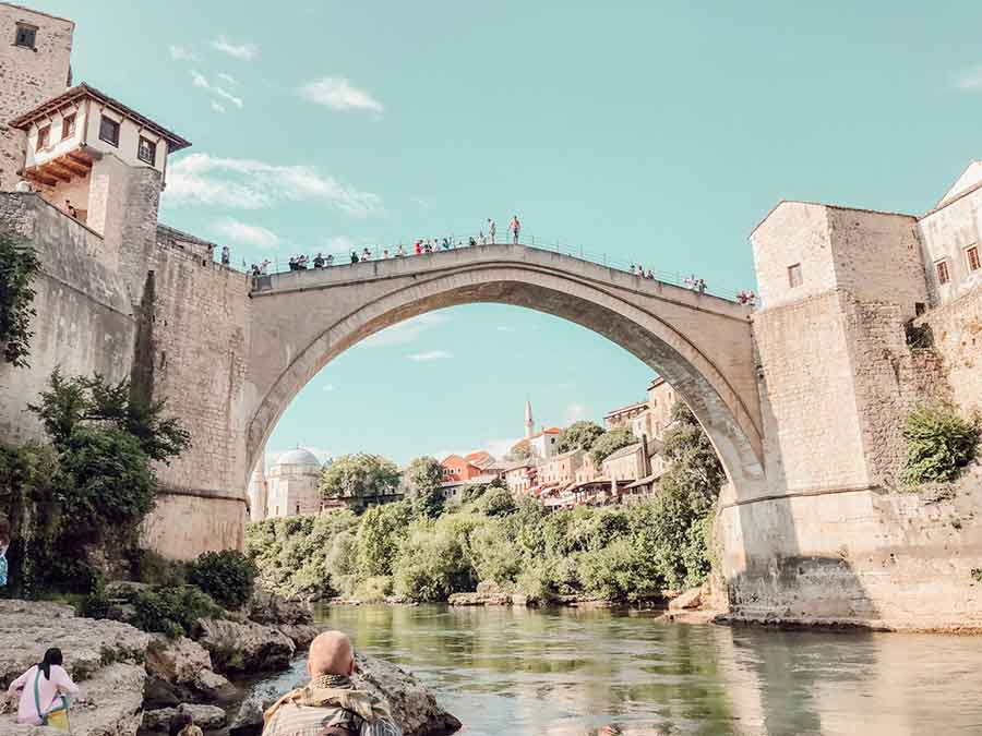 Mostar híd - Bosznia és Hercegovina - Judit Travels