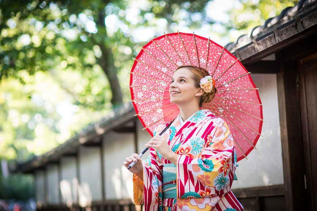 Kimonóban - Felpróbáltam egy japán kimonót - Judit Travels