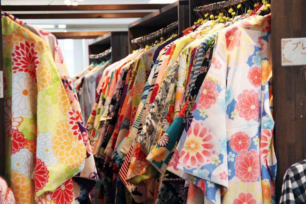 Kimonó kölcsönző - Felpróbáltam egy japán kimonót - Judit Travels